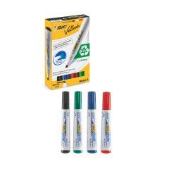 Whiteboard Marker Bic Velleda 4er Set