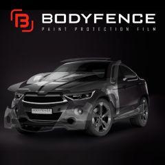Bodyfence Gloss 152 cm
