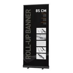 Roll-up Banner Alu Black 85cm