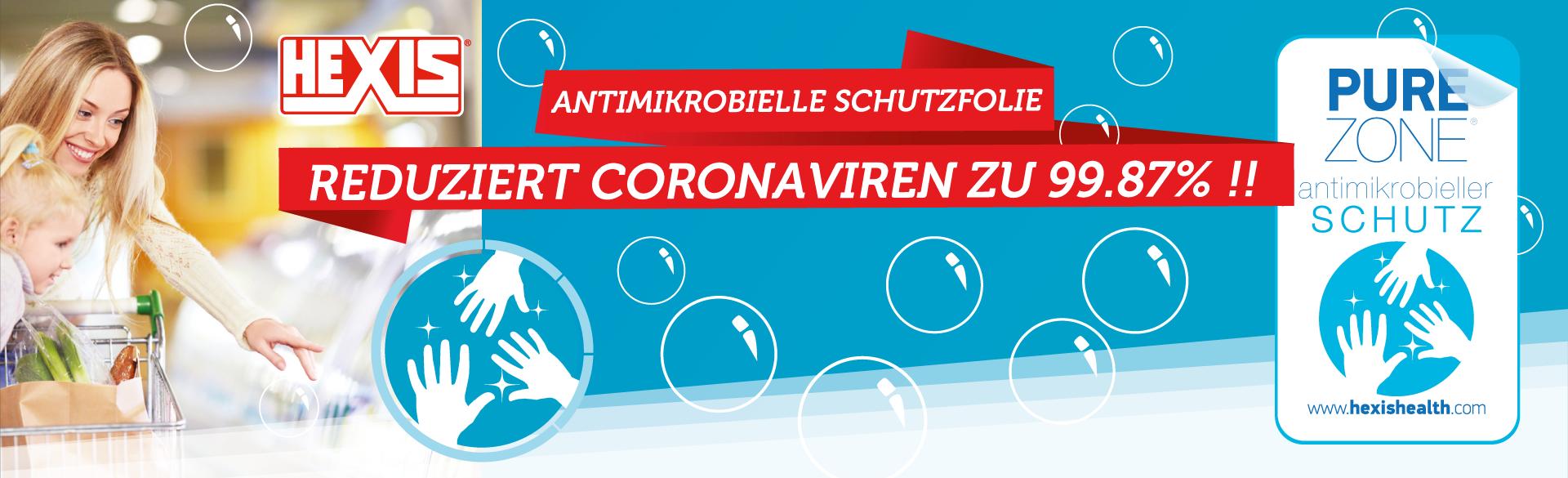 Antimikrobielle Schutzfolie